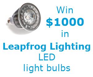 Leapfrog Lighting Upgrade Your Light contest