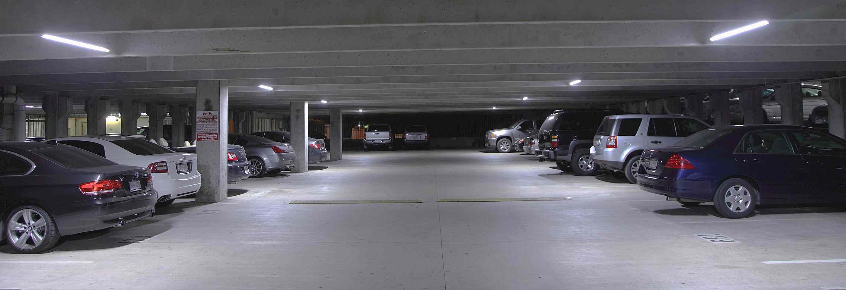 Led Lighting For Parking Garages Improving Safety And