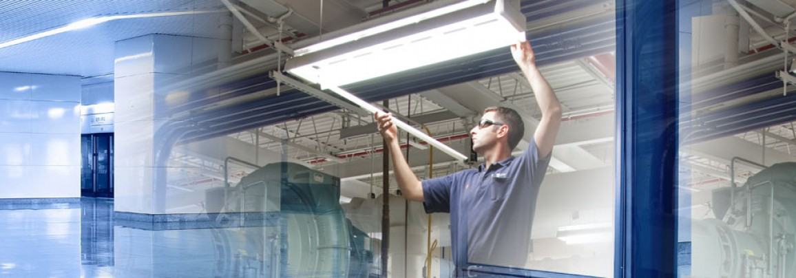 No-trouble expert installation of your LED retrofit
