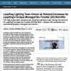 Leapfrog Lighting Team Grows as Demand Increases for Leapfrog's Unique Managed No-Trouble LED Retrofits